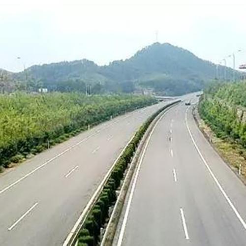 泉南高速多处路段建设
