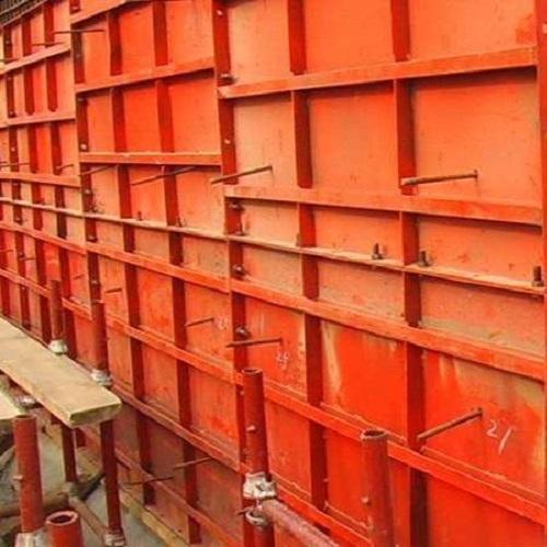 拱架钢模板
